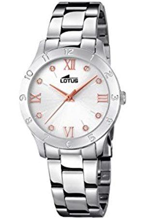 Lotus Reloj Análogo clásico para Mujer de Cuarzo con Correa en Acero Inoxidable 18138/3