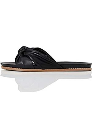 FIND Marca Amazon - Sandalias abiertas para mujer Knot Footbed