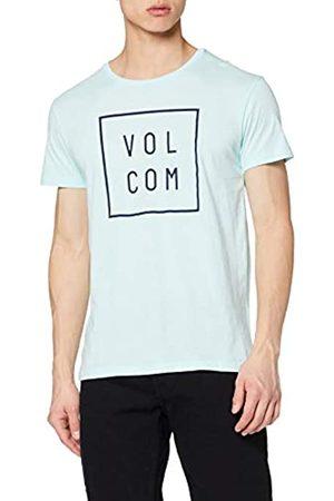 Volcom Flagg Lightweight Turquesa – Camiseta, Hombre, Flagg Lightweight T-Shirt Herren Türkis