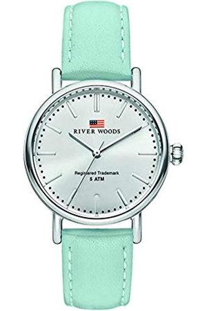 River Woods Reloj Analógico para Mujer de Cuarzo con Correa en Cuero RW340024