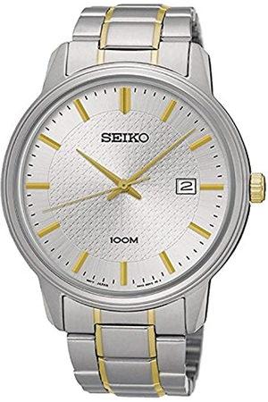 Seiko Reloj Analogico para Hombre de Cuarzo con Correa en Acero Inoxidable SUR197P1