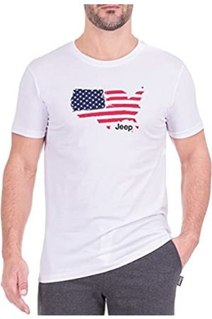 Jeep Camiseta Iconica, Camiseta US Map J8S Hombre, Hombre, O100985-W000-XXL