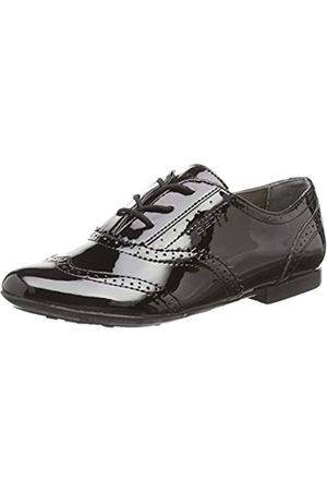 Geox JR Plie' A, Zapatos de Vestir para Niñas, Schwarz (BLACKC9999)