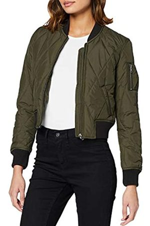 Urban classics Ladies Diamond Quilt Short Bomber Chaqueta