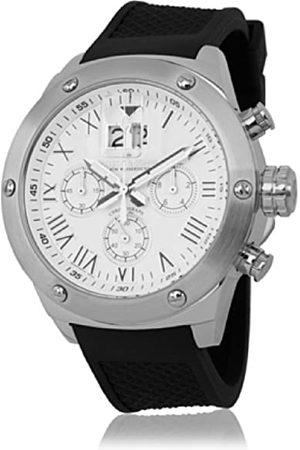 Herzog & Söhne 0 - Reloj de Cuarzo para Hombre, con Correa de Silicona