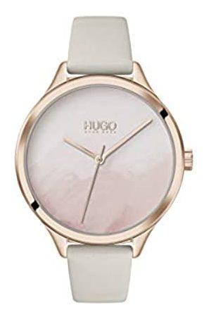 HUGO BOSS Reloj Analógico para Mujer de Cuarzo con Correa en Cuero 1540059