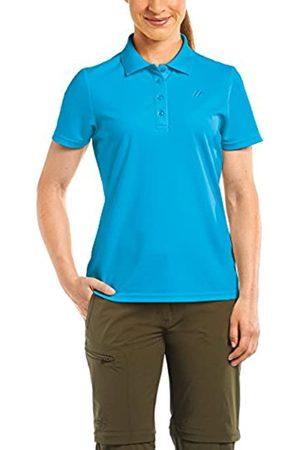 Maier Sports Polo Ulrike T – Camiseta para Mujer, Primavera/Verano, Mujer