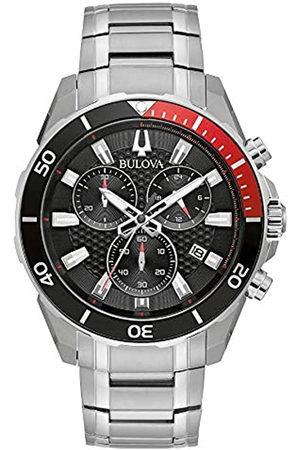 Bulova Reloj Cronógrafo para Hombre de Cuarzo con Correa en Acero Inoxidable 98B344