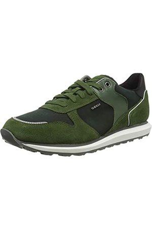 Geox U Volto A, Zapatillas para Hombre, (Dk Green C3014)