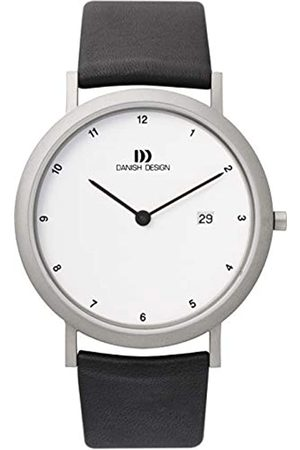 Danish Design Reloj analógico para Caballero de Cuero
