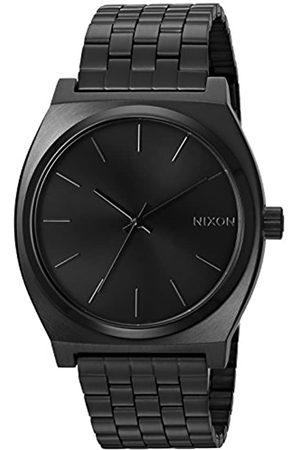 Nixon Reloj Analógico para Hombre de Cuarzo con Correa en Acero Inoxidable Time Teller A045001-00