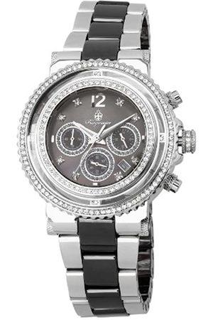Burgmeister BM215-121 - Reloj cronógrafo de Cuarzo para Mujer con Correa de Acero Inoxidable