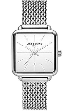 LIEBESKIND BERLIN Reloj Analógico para Mujer de Cuarzo con Correa en Acero Inoxidable LT-0150-MQ