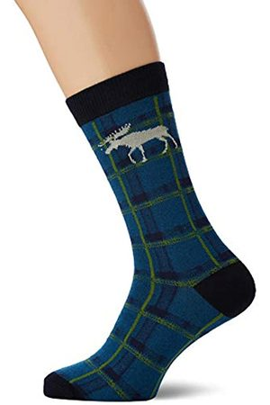 Hatley Little Blue House by Crew Socks Calcetines