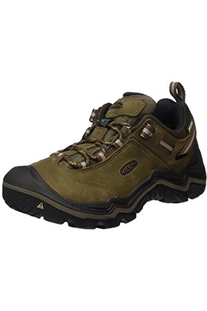 Keen Wanderer Waterproof, Zapatos de Low Rise Senderismo para Mujer, (Dark Earth/Brindle 0)