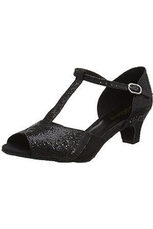 So Danca Bl33, Zapatillas de Baila Moderno y Jazz Mujer, (Black)