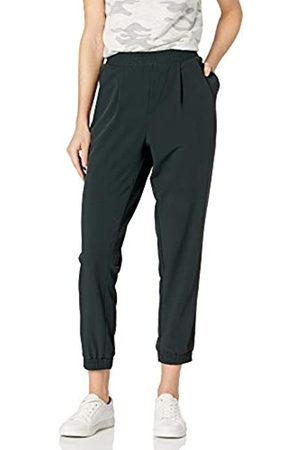 Daily Ritual Fluid Stretch Woven Twill Jogger Pant with Ribbed Cuff Pants