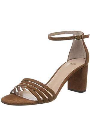 HUGO BOSS April Sandal 60-S, Sandalia con Pulsera para Mujer, (Rust/Copper 228)