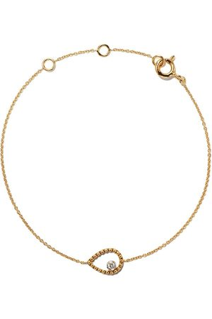 AS29 Pulsera Mye en oro amarillo de 18 kt con diamantes