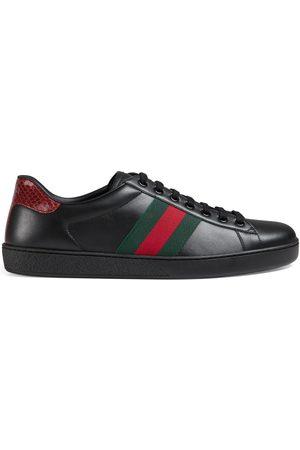 Gucci Hombre Zapatillas deportivas - Zapatilla Ace de piel para hombre