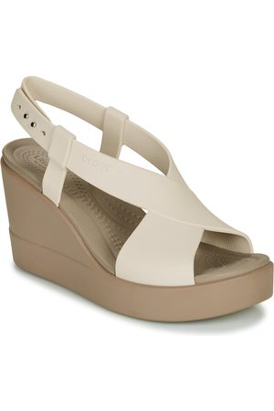 Crocs Sandalias BROOKLYN HIGH WEDGE W para mujer