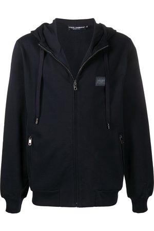 Dolce & Gabbana Sudadera con capucha y parche del logo