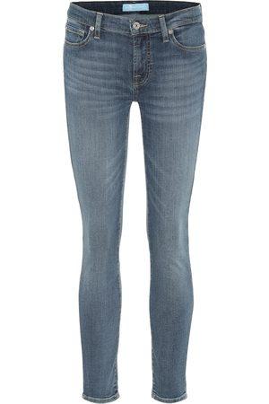 7 for all Mankind Jeans The Skinny de tiro medio