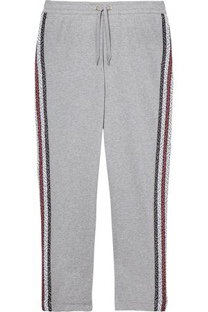 Burberry Pantalones de chándal con monograma