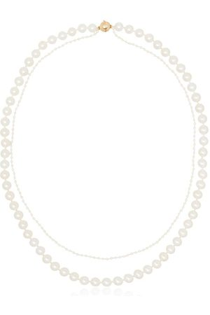 SOPHIE BILLE BRAHE Collar en oro amarillo de 14kt con perlas