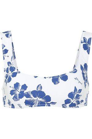 Solid Top de bikini floral The Elle