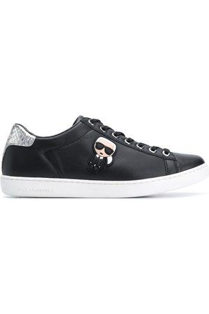 Karl Lagerfeld Zapatillas bajas con placa del logo