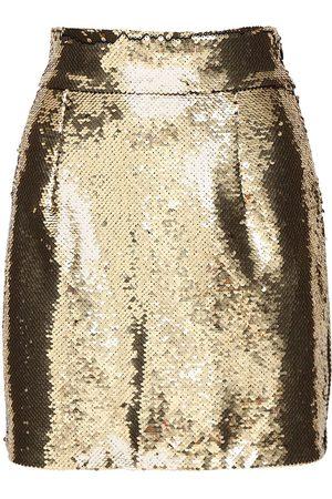 AMEN | Mujer Minifalda Con Lentejuelas 38