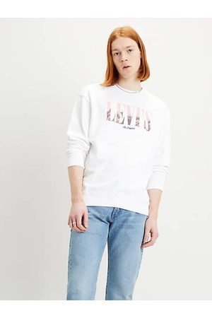Levi's Hombre Relaxed Graphic Crew White / Fit White