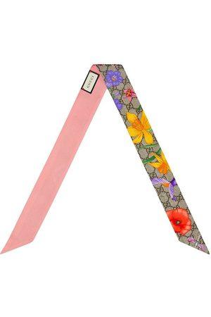 Gucci Lazo con estampado floral
