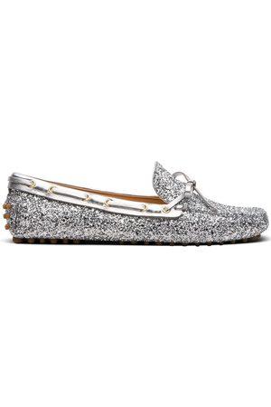 Car Shoe Mocasines drive metalizados