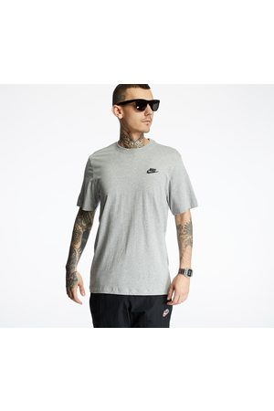 Nike Sportswear Club Tee Dk Grey Heather/ Black