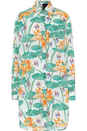Loewe Paula's Ibiza vestido camisero de seda