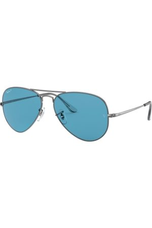 Ray-Ban Aviator Metal II RB3689 004/S2 Shiny Gunmetal