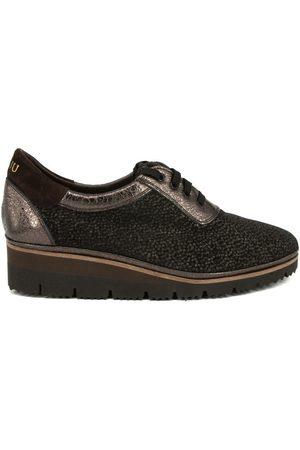 Plaju Mujer Oxford y mocasines - Zapatos Mujer PIEL METALIZADA para mujer
