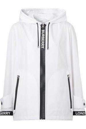 Burberry Chaqueta con capucha y logo