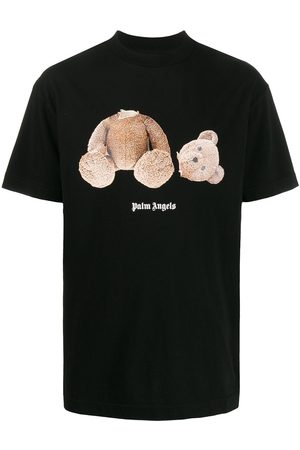 Palm Angels Camiseta con estampado de oso