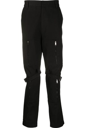 AMBUSH Pantalones cargo - Pantalones tipo cargo con detalle de cremallera