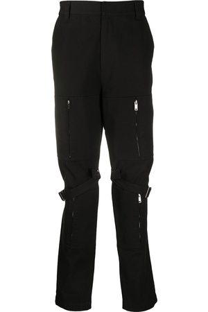 AMBUSH Pantalones tipo cargo con detalle de cremallera