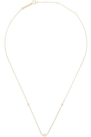 Zoe Chicco 14kt floating diamond necklace