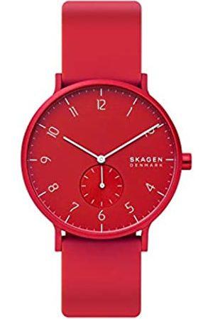 Skagen Reloj Analógico para Unisex Adultos de Cuarzo con Correa en Silicona SKW6512
