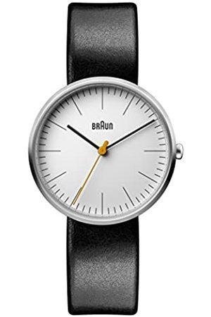 von Braun Reloj Análogo clásico para Mujer de Cuarzo con Correa en Cuero BN0173WHBKL