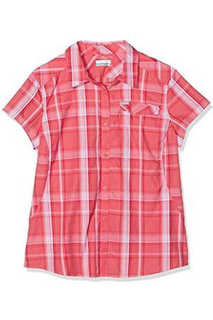 Columbia Silver Ridge 2.0 Plaid - Camisa de Manga Corta para Mujer, Mujer, 1841813