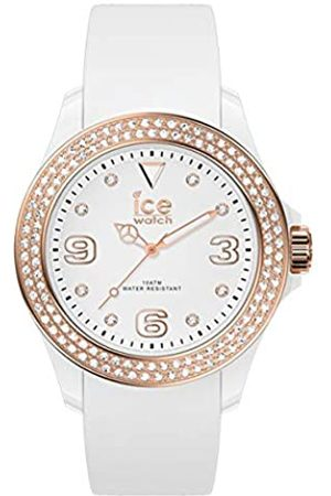 Ice-Watch ICE star White rose-gold - Reloj para Mujer con Correa de silicona