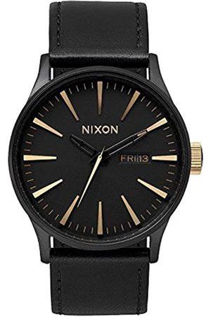 Nixon Reloj Analógico para Hombre de Cuarzo con Correa en Piel A105-1041-00