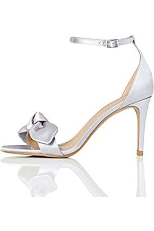 TRUTH & FABLE Zapatos de Dama de Honor Mujer, (Grey)